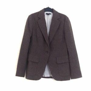 Gap Wool Blend Blazer Size 8